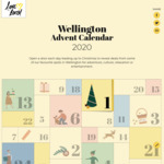 Wellington Advent Calendar - [Day 1] Two-for-One Entry to Wellington Zoo