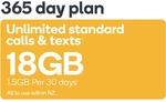 Kogan Mobile PrePaid Voucher SMALL (365 Days   1.5GB Per 30 Days) $181.28 ($14.90 Per 30 Days) @ Kogan