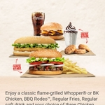 Free BK Chicken Burger with Photo of Uncut BK Chicken @ Burger King