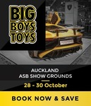 50% off Big Boys Toys Auckland Tickets ($10 - Requires AA Membership)