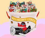 Cookie Time - 2x Fun Sized Cookie Bucket $26 (Was $40)
