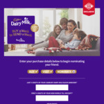 Buy a Cadbury Choclate Block to Send a Block to Someone Free @ New World