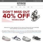 40% off Sitewide @ Crocs