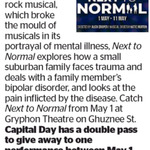 Win a Double Pass to Next to Normal from The Dominion Post (Wellington)