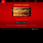 Cheeseburger Small Combo + Cheeseburger $5 via App (Available from 10:30 AM to 10:30 PM) @ McDonald's