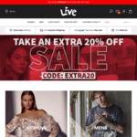 30% off @ Live Clothing