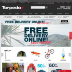 Torpedo7 Free Shipping and Sale