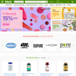 NZD $15.16 off on Orders over NZD $60.66 @ iHerb.com