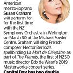 Win a Double Pass to La Mort De Cle´Opaˆtre as Part of The Planets from The Dominion Post (Wellington)