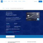 300 Airpoints Dollars + 4 Airport Lounge entries with AmEx Airpoints Platinum Card ($195 Annual Fee) - Partner Offer