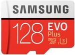 Samsung EVO Plus microSDXC Card 128GB $38 @ Noel Leeming