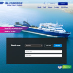 Save 20% on All Vehicle Fares at Bluebridge Ferry