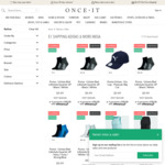 Adidas All Blacks Cap $15.99 Delivered; Womens Puma Eclipse Tights $30.99 Delivered; Puma Tshirts from $11.99 Delivered @ OnceIt