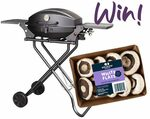 Win Meadow Mushrooms White Flats and a Portable BBQ (Worth $250) from Mindfood