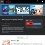 $6 Kids Tickets @ Event Cinemas
