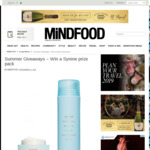 Win 1 of 2 Syrene Prize Packs (Worth $190) from Mindfood
