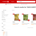 Nice Chips 100g 14x Bags for $5 @ The Warehouse