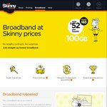 100GB of Skinny Broadband (4G) for $52 Per Month (Was $65)