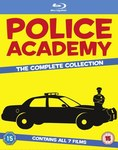 Police Academy The Complete Collection Blu-Ray (7 Movies) £10.98 (NZD $19.08) Delivered @ Zavvi