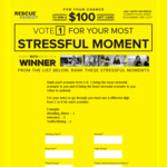 Win 1 of 500 $100 Prezzy Gift Cards from Rescue Remedy