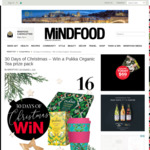 Win 1 of 10 Pukka Organic Tea Prize Packs from Mindfood