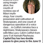 Win 1 of 2 Double Passes to Cellfish from The Dominion Post (Wellington)