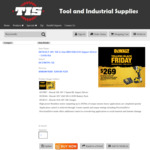 DEWALT 18V XR Li-Ion BRUSHLESS Impact Driver – 5.0Ah Kit $269 (Normally $568) + Shipping @ Tool and Industrial