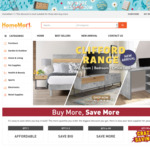 Up to 50% off No More Messy Room Sale (E.g. VAGAS 3 Seater Sofa for $899.99 @Homemart)