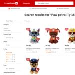 Paw Patrol 15cm Plush Toys $3.60 @ The Warehouse
