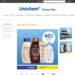 40% Off Aveeno / Me Today + Delivery / Click & Collect @ Unichem, Browns Bay