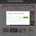 15% off Sitewide (Via App) @ Groupon