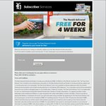 4 Week New Zealand Herald No Obligation Trial