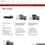 Xbox One S 500GB Console + Free Game $349 @ Microsoft Store
