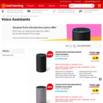 Amazon Echo $151.99 / Echo Dot $68.99 / Echo Plus $241.99 NZ Launch Pre-Order Price @ Noel Leeming