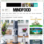 Win a Sodastream 'Crystal' Machine (Worth $300) from Mindfood