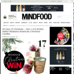 Win 1 of 6 Limited-Edition Matakana Botanicals Christmas Candles from Mindfood