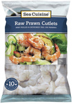 Sea Cuisine Prawns Vannamei Raw Cutlets Frozen 1kg 2 for $25 @ Countdown