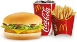 Chick'n McCheese & BBQ Cheeseburger Cheesy Deals $5 Each @ McDonald's