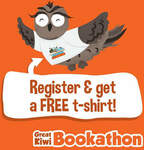 Register and Receive a Free T-Shirt @ Bookathon