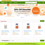 Save 20% off Sitewide @iHerb