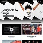 Adidas 40% off Storewide 14-17th Nov (Online & in-Store)