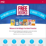 Free Book with Purchase of 2 Participating Kellogg's Products. Max 5 Per Household
