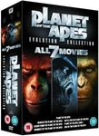 Planet of The Apes: Evolution Collection DVD Boxset $16.50, Blu-Ray $30.95 Delivered @ Zavvi