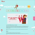 Westfield Kids Club: Free Monty Bag on Registration + Free LEGO or Duplo Gift on Their Birthday