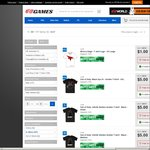 Mirrors Edge/Call of Duty T-Shirts from $1 @ EB Games (Selected Stores Only)