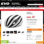 Giro Synthe Road Cycling Helmet Sizes S & L $88 @ Evolution Cycles