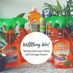 Win 1 of 4 Eco-Friendly Orange Power Cleaning Packs from Eat Well Magazine / Universal Magazines