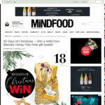 Win 1 of 10 Wild Fern Manuka Honey Flax Kete Gift Baskets from Mindfood
