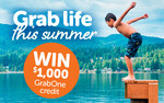 Win $1000 Grabone Credit from Grabone