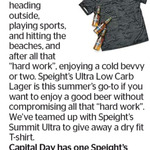 Win a Speight's T-Shirt from The Dominion Post